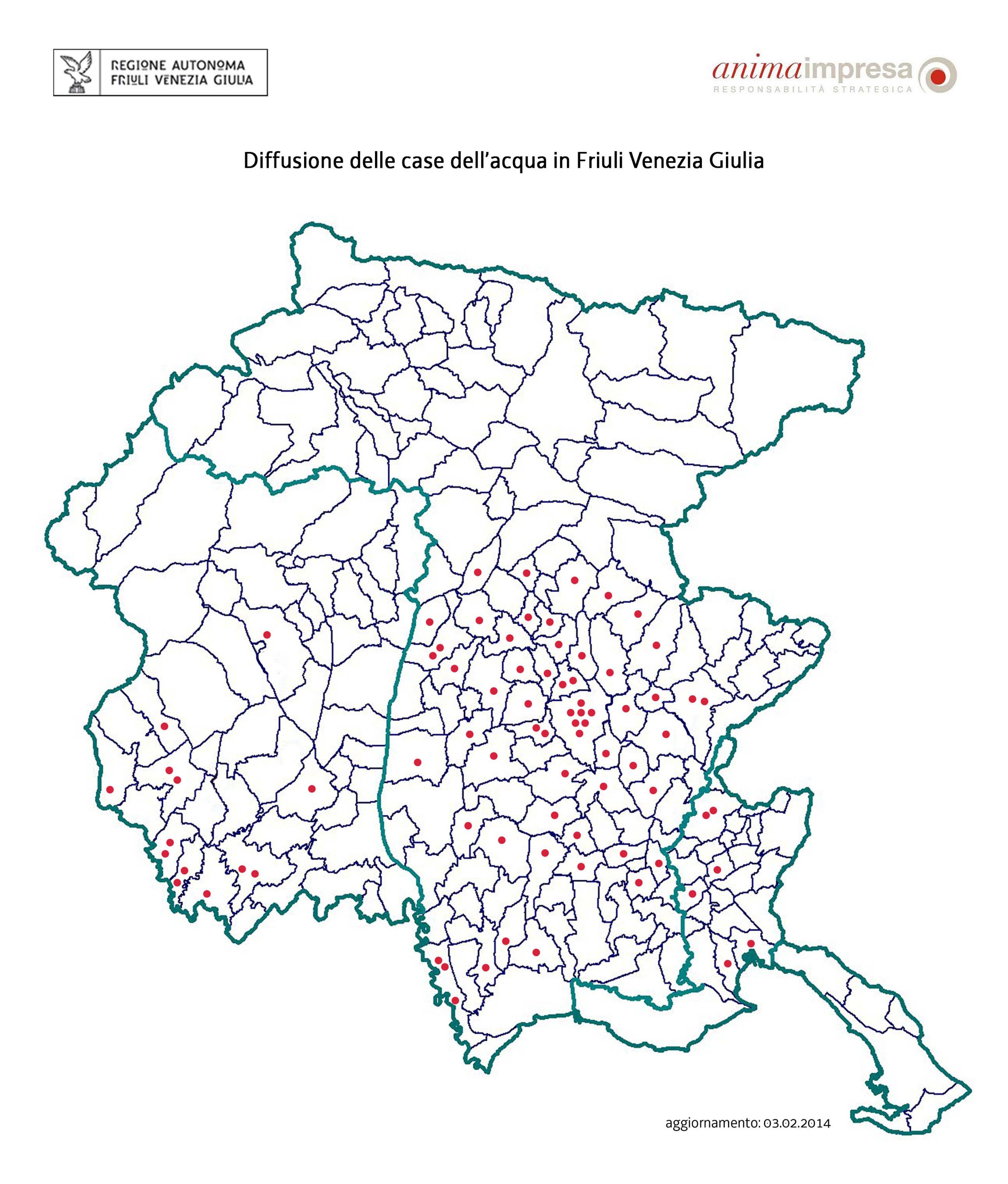 Regione Friuli Venezia Giulia Cartina.Regione Autonoma Friuli Venezia Giulia La Giunta Regionale