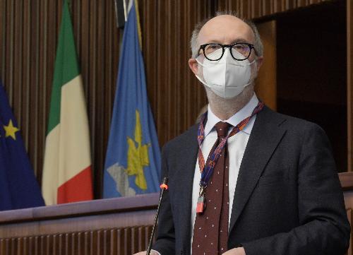 Il vicegovernatore del Friuli Venezia Giulia con delega alla Salute Riccardo Riccardi
