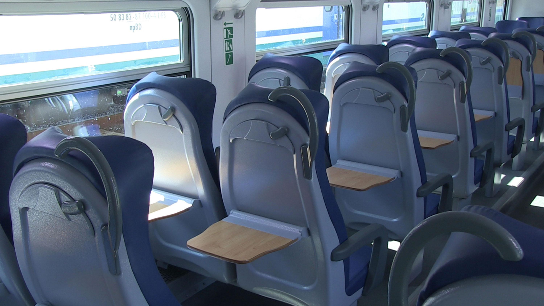 Il nuovo treno Vivalto per il trasporto pubblico locale del Friuli Venezia Giulia. (Udine 21/12/12)