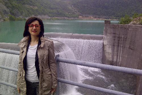 Sara Vito (Assessore regionale Ambiente ed Energia) - Diga di Ravedis 23/05/2014
