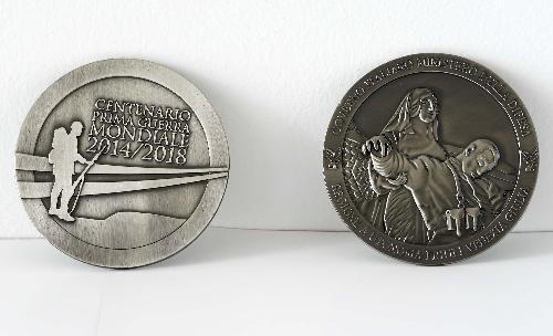 Medaglia di commemorazione dei Caduti della Grande Guerra inscritti nell'Albo d'Oro - Trieste 17/12/2014