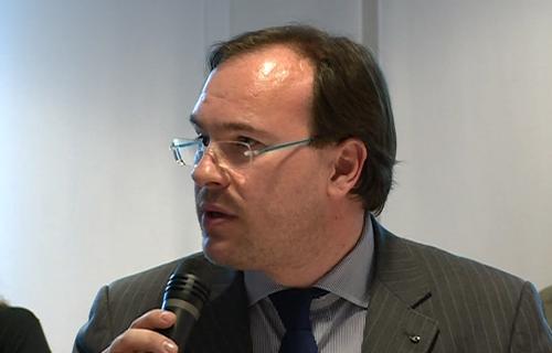 William Cisilino (Direttore Arlef) alla presentazione dell'indagine sul friulano promossa dall'Arlef, Agenzia regionale della lingua friulana, e realizzata dall'Università di Udine - Udine 22/05/2015