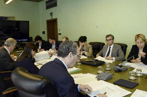 Riunione della Giunta regionale, presieduta da Debora Serracchiani (Presidente Regione Friuli Venezia Giulia) - Trieste 26/06/2015