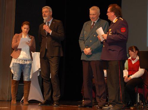 Paolo Panontin (Assessore regionale Protezione civile) alla Festa delle Forze di Polizia della Carinzia - Villaco 27/02/2016