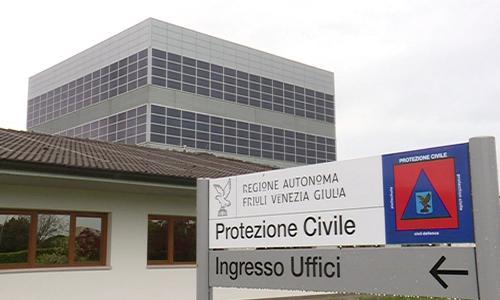 Sede della Protezione civile del Friuli Venezia Giulia - Palmanova 14/04/2016