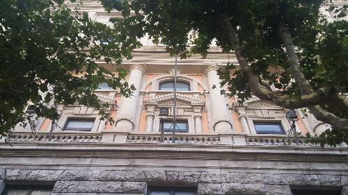 Facciata principale del Palazzo della Regione Friuli Venezia Giulia in via Carducci 6, alla consegna ufficiale dei lavori di manutenzione straordinaria - Trieste 27/07/2016
