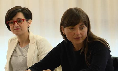 Sara Vito (Assessore regionale Ambiente ed Energia) e Debora Serracchiani (Presidente Regione Friuli Venezia Giulia) in Municipio - Barcis 01/08/2016
