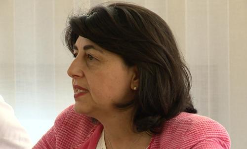 Mariagrazia Santoro (Assessore regionale Infrastrutture e Territorio) in Municipio - Barcis 01/08/2016