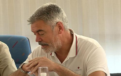 Paolo Panontin (Autonomie locali e Coordinamento Riforme, Comparto unico, Sistemi informativi, Caccia e Risorse ittiche, delegato Protezione civile) in Municipio - Barcis 01/08/2016