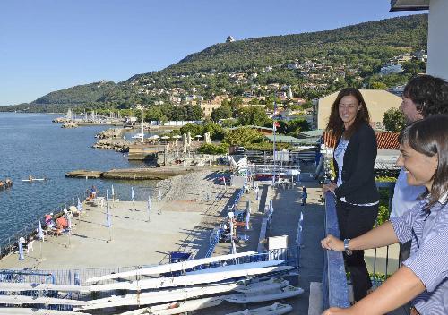 Debora Serracchiani (Presidente Regione Friuli Venezia Giulia) al Circolo Canottieri Saturnia - Trieste 23/08/2016