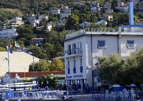 Sede del Circolo Canottieri Saturnia, in viale Miramare 36 - Trieste 23/08/2016