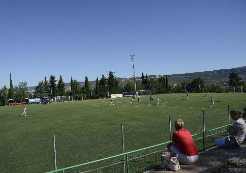 Il campo sportivo dell'ASD Zaule Rabuiese, ad Aquilinia - Muggia (TS) 23/08/2016