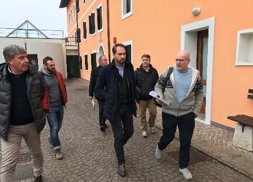 Cristiano Shaurli (Assessore regionale Risorse agricole e forestali) visita l'Associazione La Viarte onlus - Santa Maria la Longa 02/02/2017
