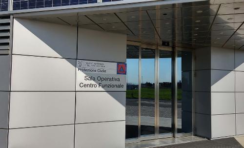 Sede della Centrale operativa della Protezione civile del FVG - Palmanova 29/03/2017