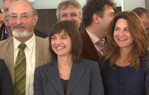 Debora Serracchiani (Presidente Regione Friuli Venezia Giulia) allo stabilimento termale - Arta Terme 13/04/2017