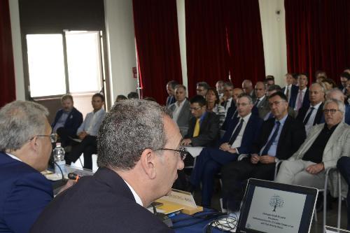 Sergio Bolzonello (Vicepresidente Regione FVG e assessore Attività produttive, Turismo e Cooperazione) all'assemblea annuale dei soci delle BCC del Friuli Venezia Giulia - Trieste 10/06/2017