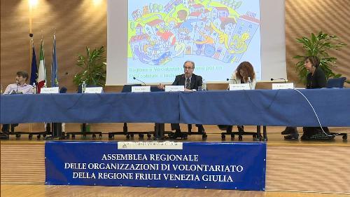 Gianni Torrenti (Assessore regionale Cultura, Sport e Solidarietà) all'Assemblea regionale delle organizzazioni di volontariato del Friuli Venezia Giulia - Udine 10/06/2017