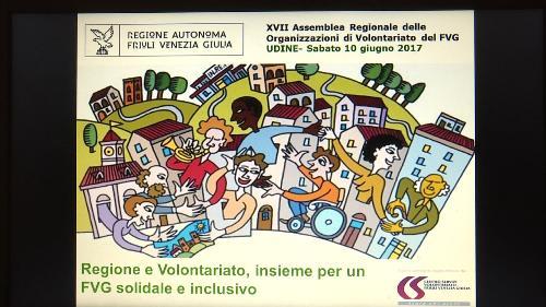 Assemblea regionale delle organizzazioni di volontariato del Friuli Venezia Giulia - Udine 10/06/2017
