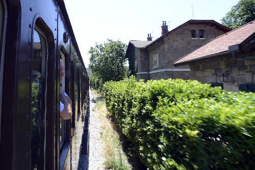 Treno storico sulla tratta Miramare-Campo Marzio - Trieste 18/07/2017