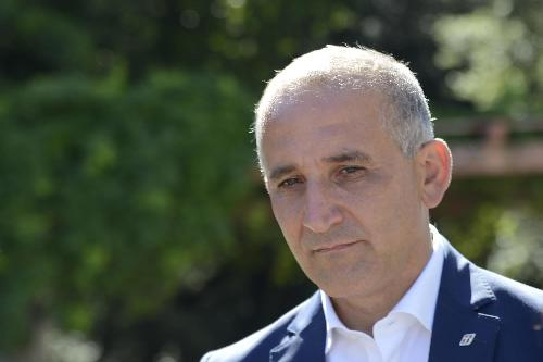 Renato Mazzoncini (Amministratore delegato FS) nel Parco del Castello di Miramare - Trieste 18/07/2017
