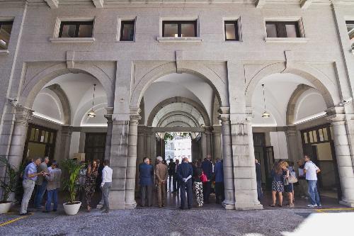 Inaugurazione della sede ristrutturata della Regione FVG in via Carducci 6 - Trieste 19/07/2017
