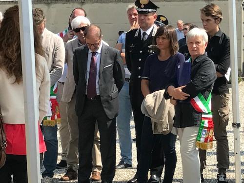 Debora Serracchiani (Presidente Regione Friuli Venezia Giulia) alla commemorazione dell'eccidio compiuto nella frazione di Nimis - Torlano 25/08/2017