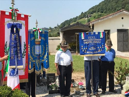 Commemorazione dell'eccidio compiuto nella frazione di Nimis - Torlano 25/08/2017