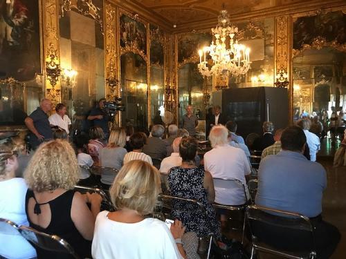 """Presentazione di """"100 milioni di anni fa: il mare del Carso"""" - Trieste 30/08/2017"""