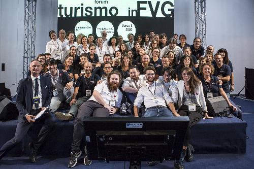 """Seconda giornata del Forum """"Turismo in FVG - Progettazione partecipata verso il 2025"""" - Trieste 06/09/2017"""