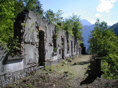 Ex Forno nel complesso della fortezza - Chiusaforte