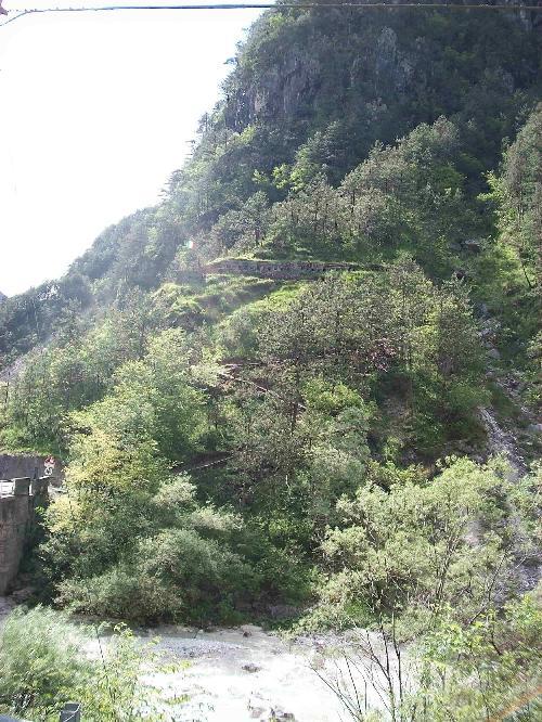 Trincea Ponte delle Lastre - Chiusaforte
