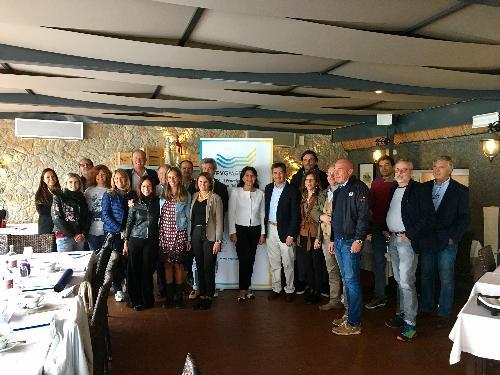 Mariagrazia Santoro (Assessore regionale Infrastrutture e Territorio) all'assemblea dei soci di FVG Marinas - Lignano Sabbiadoro 19/09/2017
