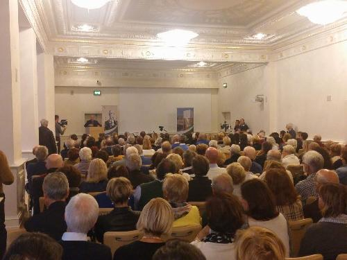 Rievocazione di Osiride Brovedani fatta da Paolo Mieli (Giornalista e storico) - Trieste 19/09/2017