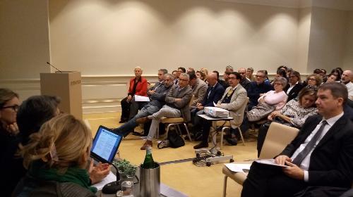 """Partecipanti al convegno """"L'appropriatezza degli interventi specialistici nelle vecchie e nuove residenzialità"""" - Trieste 21/09/2017"""