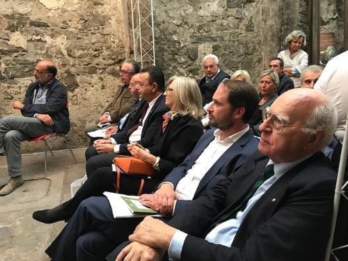 """Cristiano Shaurli (Assessore regionale Risorse agricole e forestali) a """"Gusti di Frontiera"""" - Gorizia 23/09/2017"""