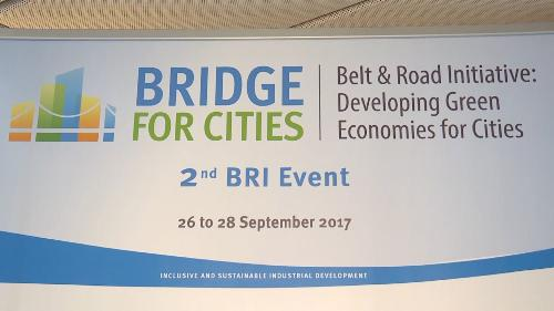 "Convegno ""Bridge for Cities. Belt and Road Initiative: developing green economies for cities"" - Vienna 26/09/2017"