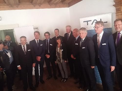 Debora Serracchiani (Presidente Regione Friuli Venezia Giulia) all'incontro con Horst Lorenz Seehofer (Presidente Land Baviera) - Ingoldstadt 05/10/2017