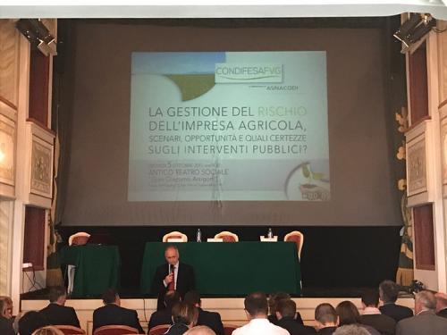 Convegno sulla gestione del rischio dell'impresa agricola - San Vito al Tagliamento 05/10/2017