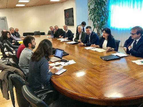 Mariagrazia Santoro (Assessore regionale Infrastrutture e Territorio) incontra i rappresentanti della Federazione italiana amici della bicicletta (Fiab) - Udine 09/10/2017