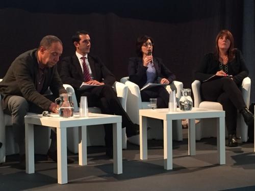 Sara Vito (Assessore regionale Ambiente ed Energia) al forum Compraverde-Buygreen - Roma 12/10/2017