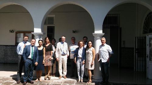 Gianni Torrenti (Assessore regionale Cultura, Sport e Solidarietà) in visita istituzionale a Cuba - L'Avana 17/10/2017