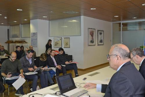 Marco Tullio Petrangelo (Direttore generale PromoTurismo FVG) alla presentazione dei dati gennaio-settembre 2017 dell'andamento turistico regionale - Udine 26/10/2017