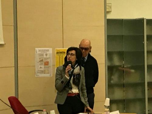 Sara Vito (Assessore regionale Ambiente ed Energia) all'incontro organizzato dai comitati di rione - Monfalcone 28/11/2017