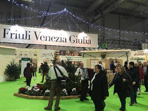 Artigiano in fiera, stand del FVG - Milano 07/12/2017
