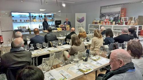Presentazione di vini DOC del Friuli Venezia Giulia negli spazi di Eataly - Monaco di Baviera 05/12/2017