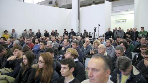 Inaugurazione della prima edizione di Rive - Pordenone 12/12/2017 (Foto Pordenone Fiere)
