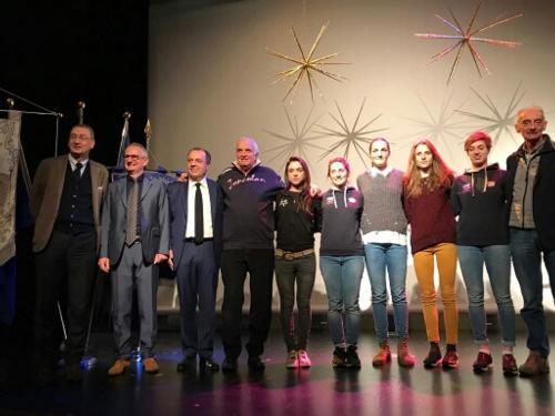 Sergio Bolzonello (Vicepresidente Regione FVG e assessore Attività produttive, Turismo e Cooperazione) alla presentazione delle due tappe del Giro Rosa 2018 che si svolgeranno in Friuli Venezia Giulia - Tricesimo 16/12/2017