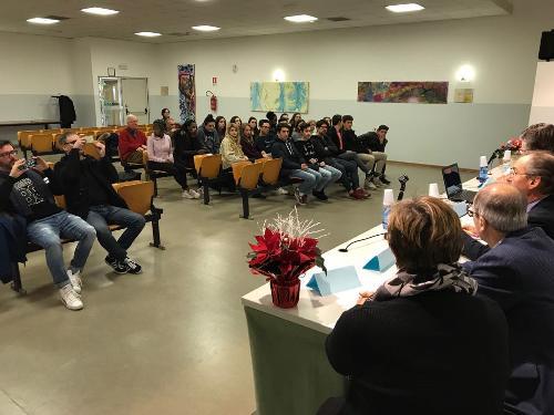"""Presentazione del progetto """"Cittadini d'Europa consapevoli"""" - San Vito al Tagliamento 19/12/2017"""