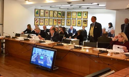Gianni Torrenti (Assessore regionale Cultura, Sport e Solidarietà) alla Conferenza Stato-Regioni  - Roma 21/12/2017