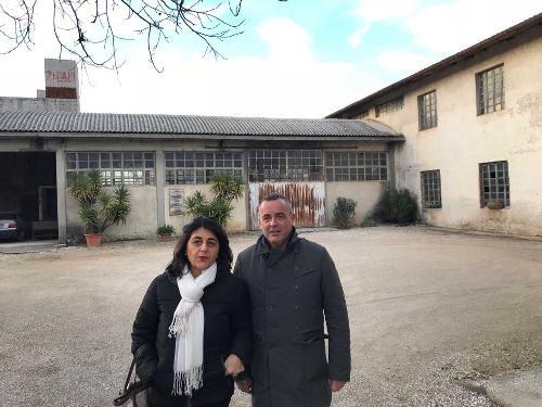Mariagrazia Santoro (Assessore regionale Infrastrutture e Territorio) e Roberto Trentin (Sindaco Premariacco) - Premariacco 22/12/2017